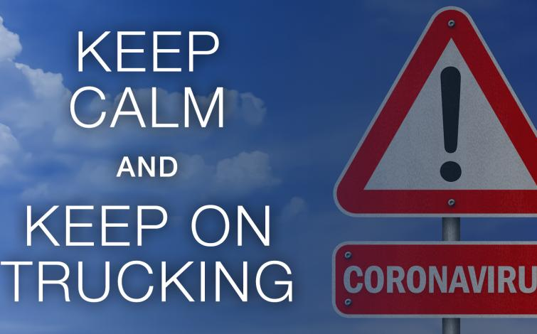 Keep Calm and Keep on Trucking